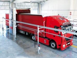 Vaskesystem til lastbilvask